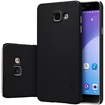 Nillkin Super Frosted Series Back Cover Case for Samsung Galaxy A7 (2016) A710F (Black) with Free HD Screen Guard