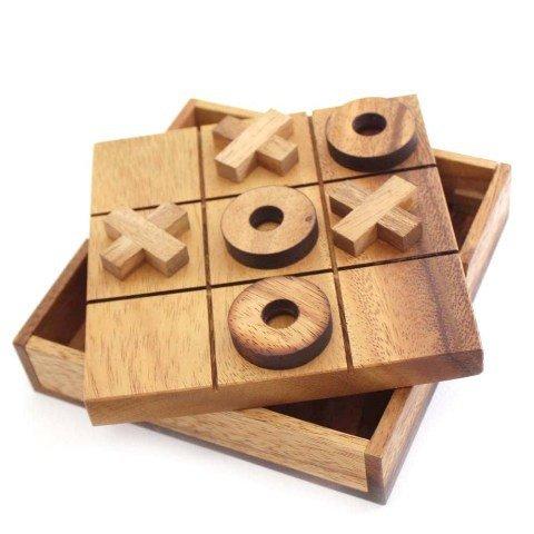 e Spiel Legespiel Holz Puzzle Knobel IQ-Spiel ()