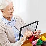 Zeitungslupe Vergrößerungsglas Leselupe - Lupe OMALU - für Senioren zum