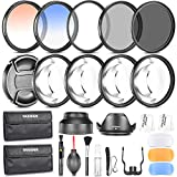 Neewer Fotografia Accessori Kit Filtro 58MM: Set...