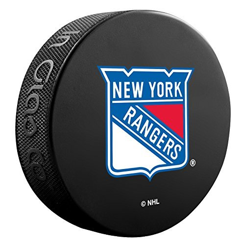 New York Rangers Basic Collectors NHL Hockey Game Puck by Patch Collection