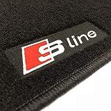 Logo Mats Tapis Audi A1 S-Line sur Mesure