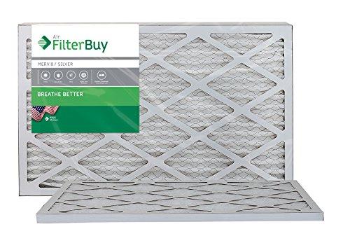 16x20x1 Filtrete Filter (Ofen Filter/Air Filter-AFB Silber Merv 8(2Pack), AFB16x20x1M8pk2)