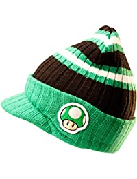 Nintendo - 1 Up Mushroom Billed Beanie Hat