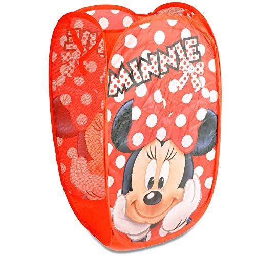 Disney Minnie Maus Aufbewahrungskorbfür Kinder – Pop-Up-Spielzeug-Aufbewahrung/Organizer/Wäschesack/Aufbewahrungstasche (Minnie Speicher)