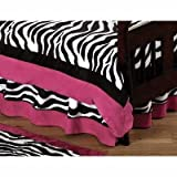 Best Sweet Jojo Designs Bed Skirts - Funky Zebra Bed Skirt for Crib and Toddler Review
