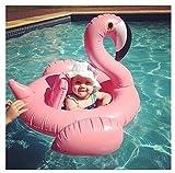 Outdoor Director Kinder Schwimmen Ring White Swan/Flamingo Aufblasbare Pool Float Wasser Stuhl Baby Schwimmer für Baby Lernen Schwimmen (Farbe : Rosa)