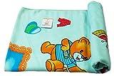 Ole Baby Cartoon Print Soft, Quality Baby Shower Gifts,Everyday Bath Organic Cotton Kids Towel (0-5 Years)