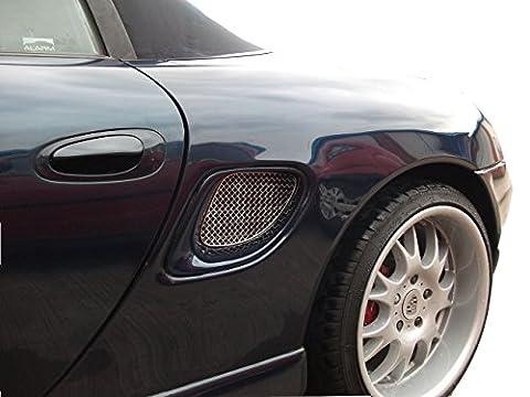 Porsche Boxster 986 - Ensemble ventilation latéral - Finition argent (1996 to 2004)