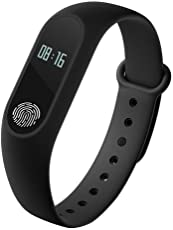 Tygot M2 Water Proof or Sweat-Free with Heart Rate Sensor Smart Band for Android and iOS Device(Assorted)