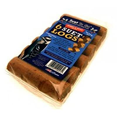 Suet To Go Berry Bugs Logs (Pack of 6) from Suet To Go