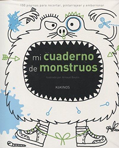 Mi cuaderno de monstruos por Arnaud Boutin