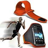 (orange) Blackview R7Fall Hohe Qualität ausgestattet Sports Armbinden Running Bike Radfahren Fitnessstudio Joggen befreit Arm Band Schutzhülle von i-tronixs