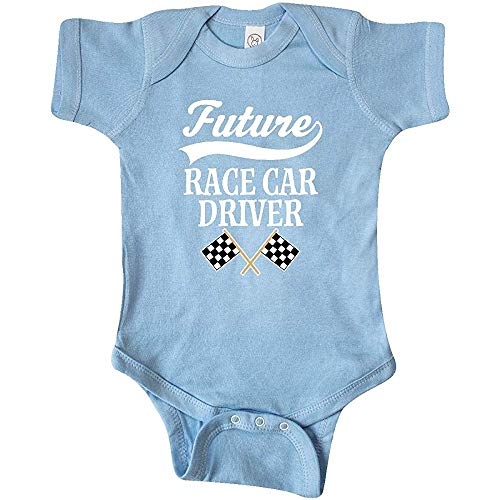 But why miss Inktastic Future Racer Racing Infant Crawling Suit 18Months