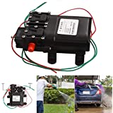 160 psi DC 12V 80W Micro Electric Diaphragm 2in1 High Pressure Dual Water Pump for RV Boat