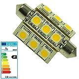 Scharnberger+Has. LED-Soffitte 27x42mm 30122 S8,5 10-30V3000K180° LED-Lampe/Multi-LED 4034451301221