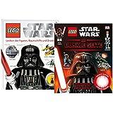 LEGO Star Wars Libros Set - Enciclopedia de la Figuras, Naves espaciales y Droiden y Dunkle Página Libro - 9120063893102