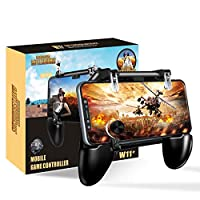 BESTZY PUBG Mobile Game Controller [4 in 1] - Mobile Gaming Triggers Phone Gamepad Joystick Phone Holder, Shooter Sensitive Smartphone Controller for 4.7 to 6.5 inch
