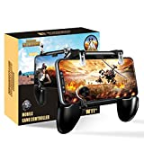 BESTZY PUBG Mobile Game Controller [4 in 1] - Trigger PUBG Mobile Gamepad Joystick Porta Cellulare, Controller per Fortnite Mobile per Android e iOS da 4,7 a 6,5 Pollici
