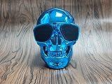 MLL Shantou Bluetooth Lautsprecher Wireless Lautsprecher Geist Kopf Kreative Persönlichkeit Bulldog Körper Big Dog Kopf,Blau,13 * 10 * 13 cm