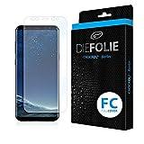 Crocfol Folie für Samsung Galaxy S8 Plus: 2x DIEFOLIE Schutzfolie, 1x DASFLÜSSIGGLAS flüssiges Glas (1. Fullcover)