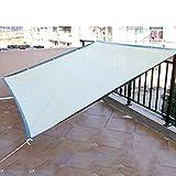 2 x 2m Sun Shade Sail Canopy, Square Waterproof Anti-UV Canopy Awning Sunscreen