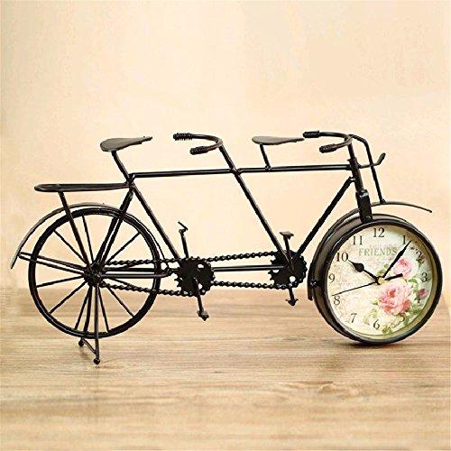 Creative Uhr Bell Art Fahrrad Single Side Mute Uhr