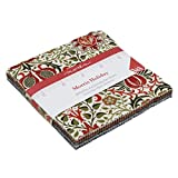 Moda Fabrics - Morris Holiday Metallics - Charm Pack
