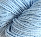 #9: Light Blue Knitting/Crochet 100% Acrylic worsted weight (double knit) thickness 8ply Yarn (75 gms)