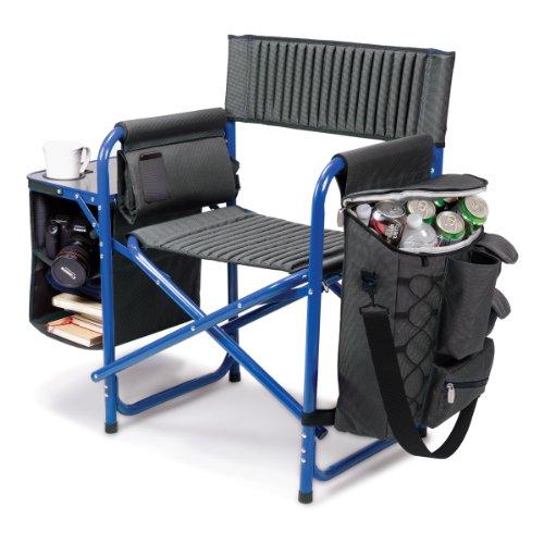 tiempo-picnic-silla-plegable-fusion-gris-w-marco-azul-aluminio-w-polister-lienzo
