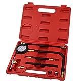 Generic Carburante Auto Strumenti Di Iniezione Pompa Di Pressione Del Tester Misuratore Di Benzina Kit 0-100 PSI