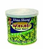 KHAO SHONG Bohnen mit Wasabi, scharf, 6er Pack (6 x 140 g Dose)