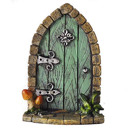Decoración para árbol de jardín, diseño de en forma de puerta de...