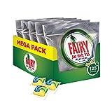 Fairy Platinum Detersivo in Caps per Lavastoviglie, Confezione da 125 Pastiglie (25 x 5), Limone