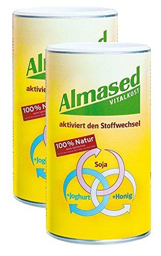 Image of Almased Vital-Pflanzen-Eiweißkost Bundle 2 x 500g 1000 g Pulver