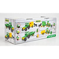 Tigres Wader Tigres Wader39348 Tractor Farmer with A Trailer in A Box-Made in Spain, Multi-Colors