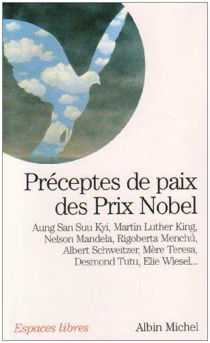 Préceptes de paix des prix Nobel
