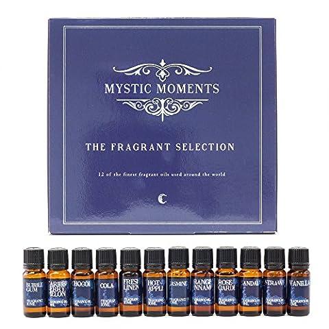 Mystic Moments | le Parfum de sélection | 12meilleurs huiles parfumées