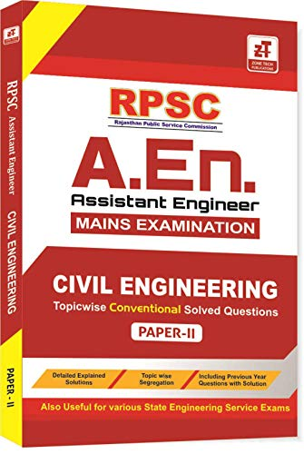 RPSC-A.En. Mains Exam : CIVIL ENGINEERING PAPER-2 (Conventional Questions With Solution)