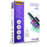 Fellowes 5306002 Pochettes de plastification A5 80 microns par 100 Transparent