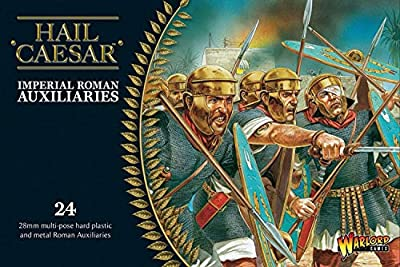 Auxiliaires Romains Impériaux - Hail Caesar - 24 MIniatures En Plastique De 28 mm