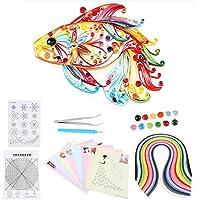 Kit d'Outils de Paperolles Quilling Paper pour DIY Art du Papier Loisirs Créatifs