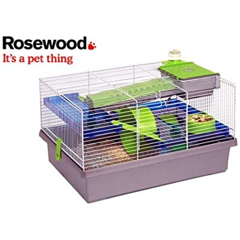 coopet Pico Hamster Home Silver (Fully-furnished hamster