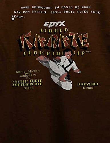 World Karate Championship T-Shirt Braun