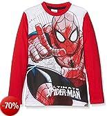 Marvel 15800forwardslash10AZ, T-Shirt Bambino, Rosso, 140 (Taglia Produttore:10)
