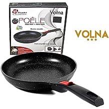 Pradel Excellence - Gamme luxe Volna- Poêle 28 cm revêtement pierre - manche amovible - Garanti sans PFOA