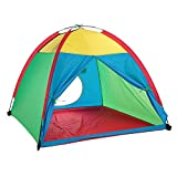 TOMSHOO Children Tent Portable Children Kids Play Tent Water-resistant Indoor Outdoor Garden Toy Tent