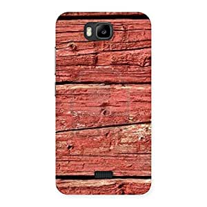 Pale Red Designer Back Case Cover for Honor Bee