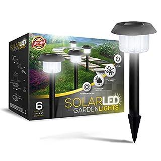 Ultra-Bright 6 Lumen Solar Garden Lights