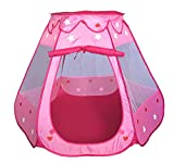 #4: PIGLOO® Pop up Play House Tent for Kids Ages 3+ Years, 125 x 125 x 85 cm, 1 Piece